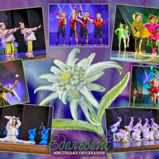 Зразковий ансамбль сучасного танцю «Едельвейсики»