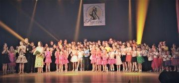 Звітний концерт клубного об'єднання «Алєкса спорт денс» відбувся по-сімейному тепло. Зібрали 5 тисяч гривень для  онкохворих діток