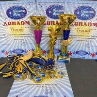 На Миколая у «Алєкса Спорт Данс»  роздавали нагороди з бальної хореографії